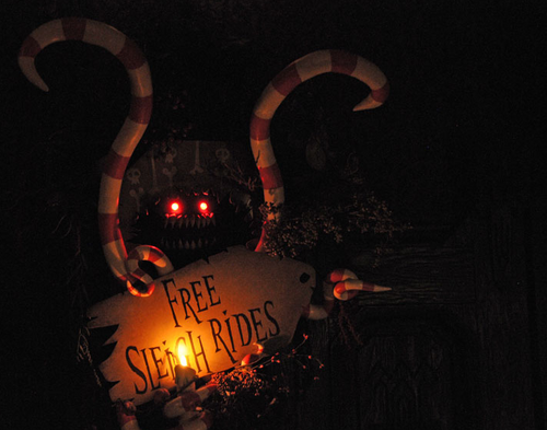 Haunted Mansion Holiday - The Nightmare Before Christmas Wiki