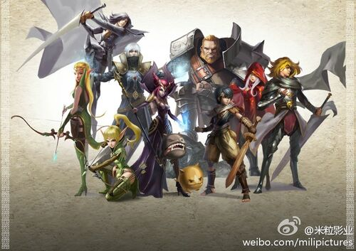 Dragon Nest Sea Character Dragon Nest Sea Wiki