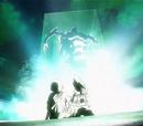 Yoshimori and Tokine vs. Yumigane