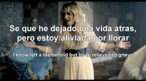 Demi Lovato - Let it go (Letra Lyrics - Español Ingles)