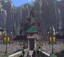 El castillo de Arendelle.