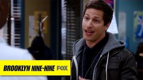 "Jake's Breakfast Burrito from ""Operation Broken Feather"" BROOKLYN NINE-NINE FOX BROADCASTING"