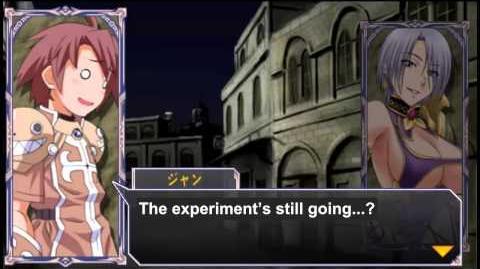 Queen's Gate Spiral Chaos Freetalks Translation Ivy (2 of 2) ( kiss scene)