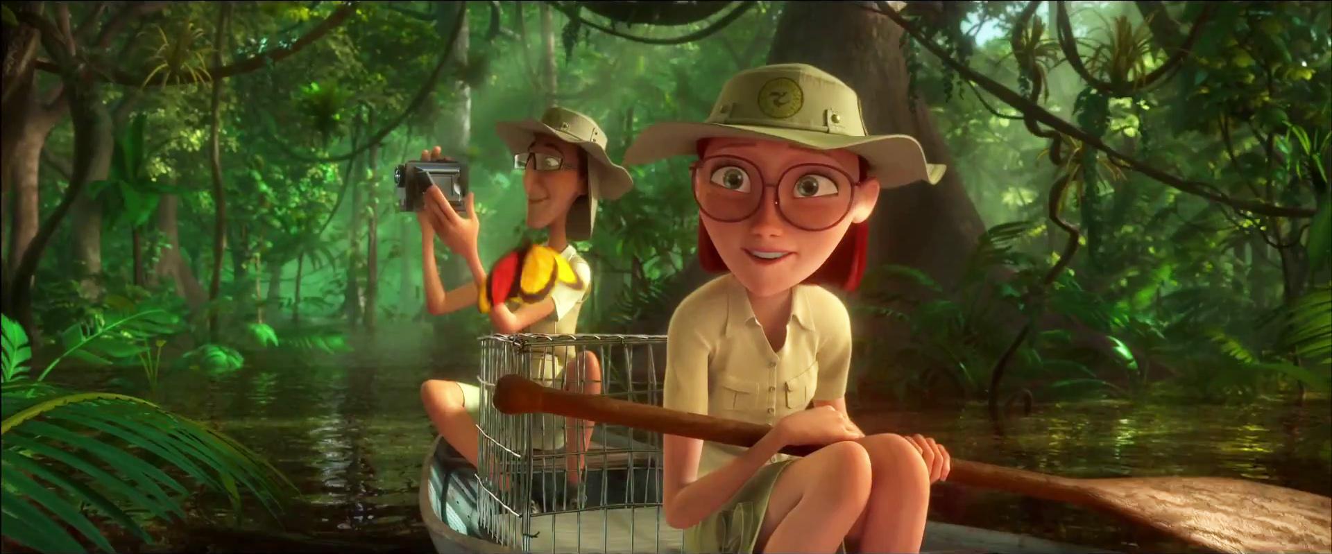 Image - Rio 2 Linda and Tulio in the Amazon Jungle.jpg ...