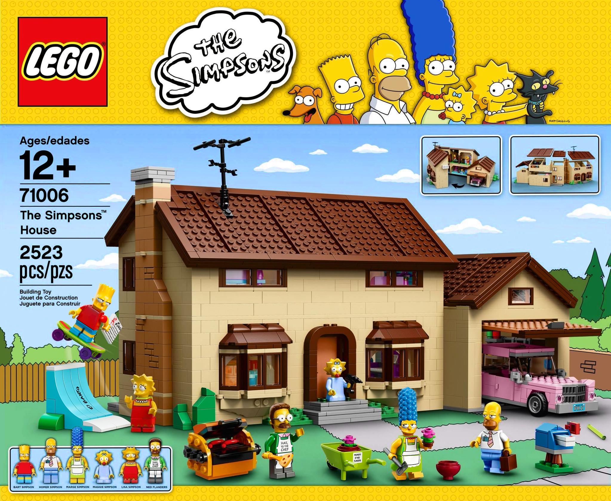 71006 The Simpsons House - Brickipedia, the LEGO Wiki Lego Simpsons House