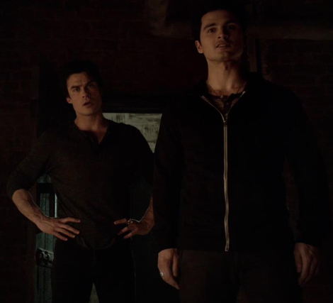 Image - Damon and Enzo in 5x13...png - The Vampire Diaries ...