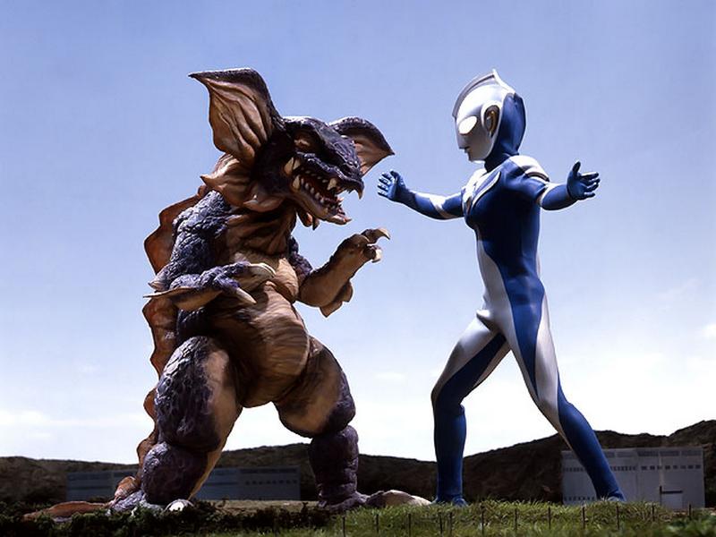 Ultraman Cosmos Monsters Galbas v ultraman cosmos