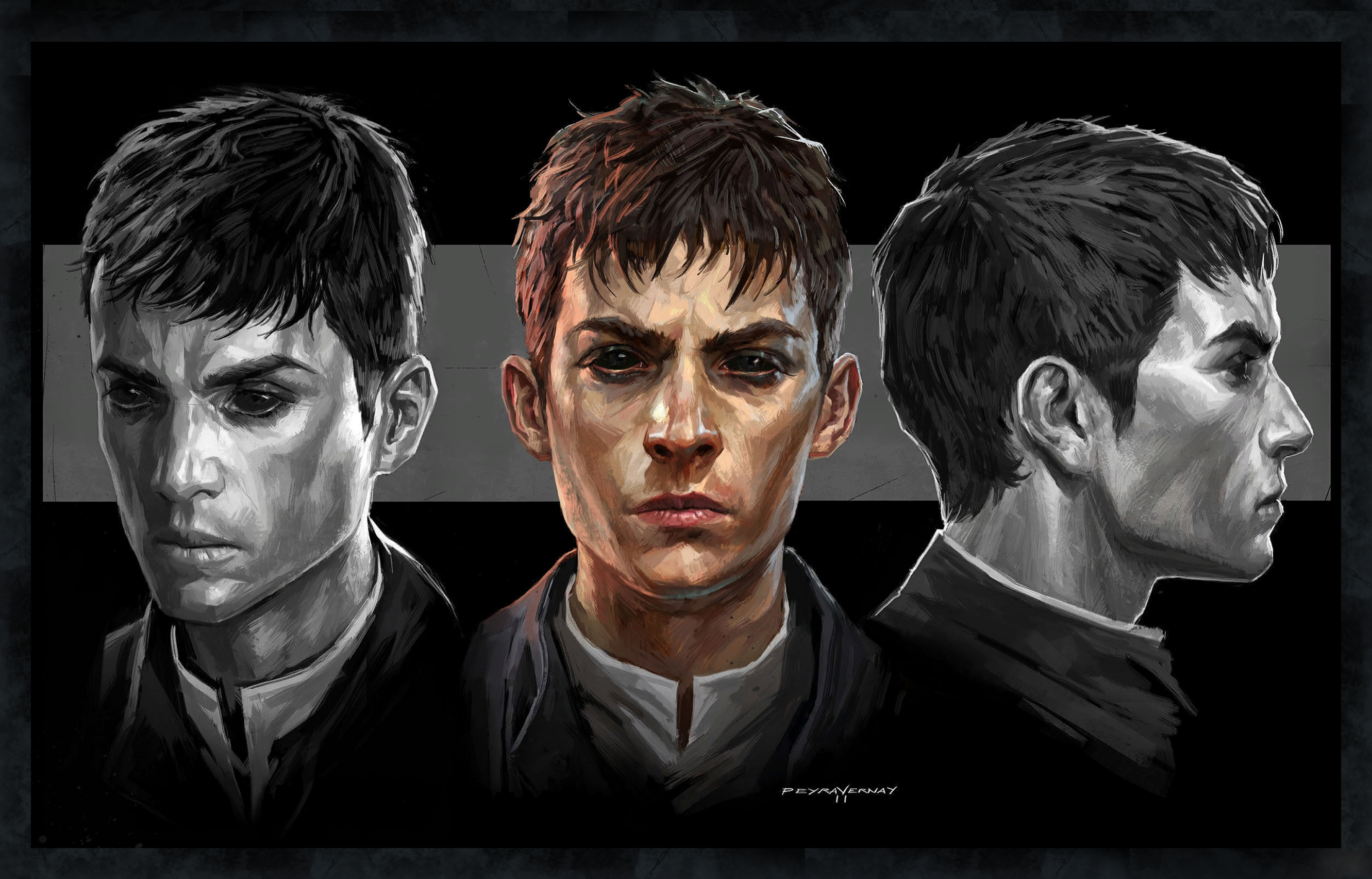 The Outsider - By bsdump : dishonored |The Outsider Dishonored