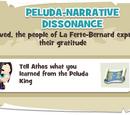 Peluda-Narrative Dissonance