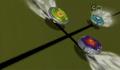 Atacante interfares em um choque frontal entre Libra e Águia