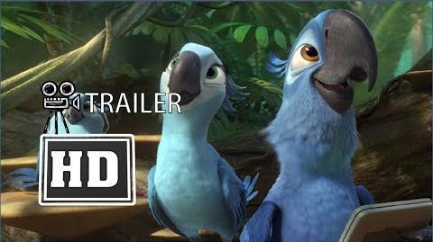 Rio 2- Official Trailer- Runs Wild- HD 2014 New Cartoon Movie