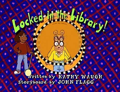 Locked In The Library Episode Arthur Wiki Wikia