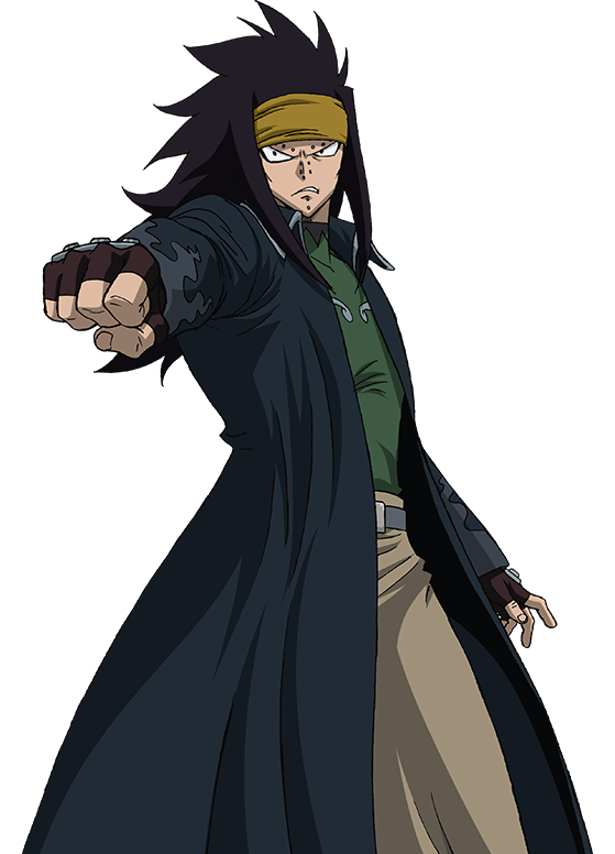 Shaman King: Steckbrief  Gajeel_Anime_S5