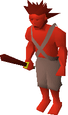 Old imp visual.. wow : runescape
