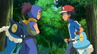 ¡Froakie VS Frogadier! ¡¡Combate ninja!!