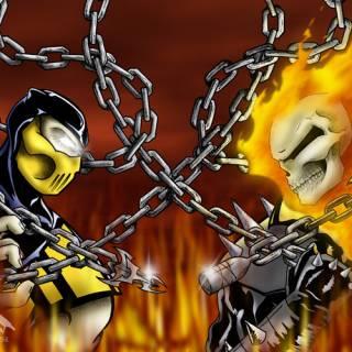 Image - Scorpion vs ghost rider.jpg - VS Battles Wiki