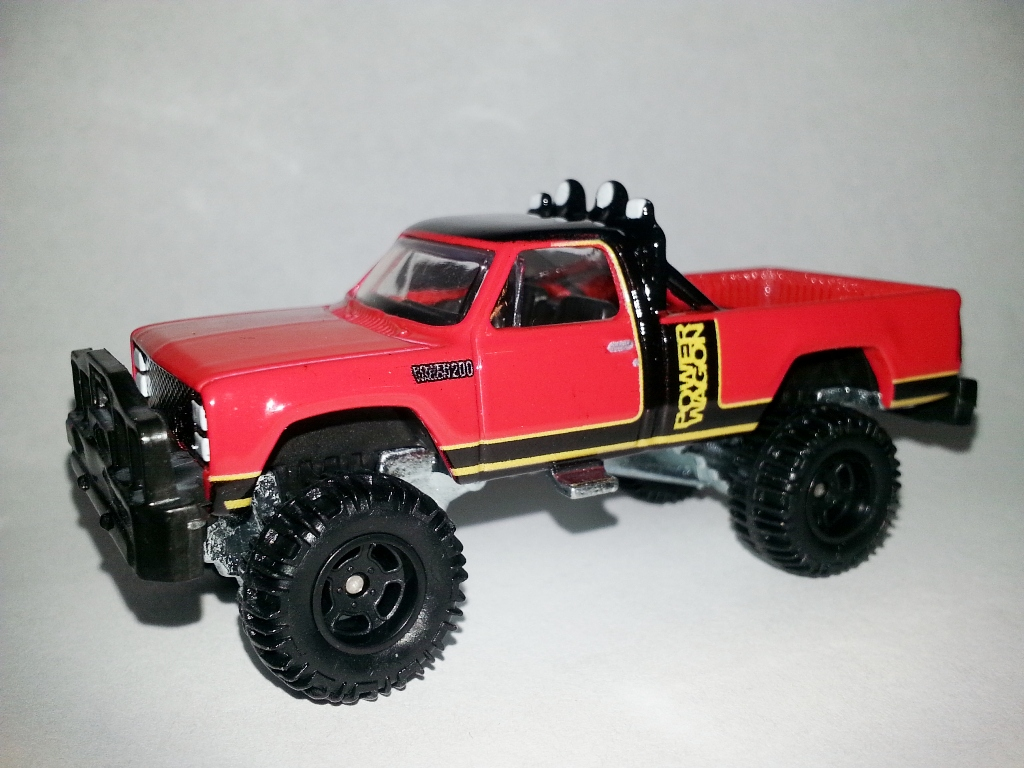 1980 Dodge Macho Power Wagon Hot Wheels Wiki Wikia