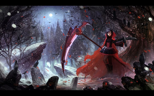 Night of the Huntress (RWBY/Bloodborne Fusion AU