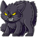 Angry Black Cat Plushie.png