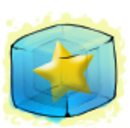 Gold Star Ice Cube Before 2015 revamp.png