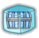 Icy Treasure Chest Ice Cube Before 2015 revamp.png