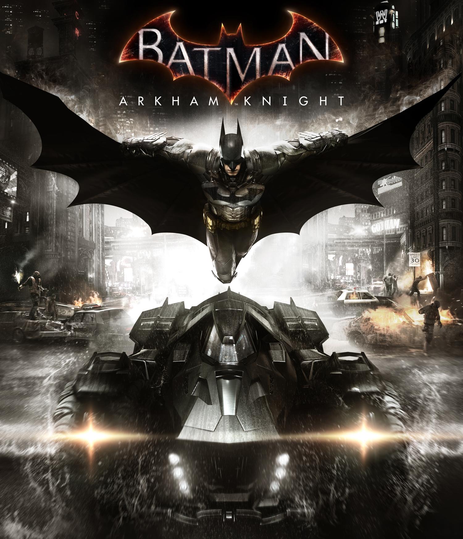 Batman Arkham Knight cover art نقد و همچنین بررسی کردن بازی «بتمن: شوالیهی آرکام Batman: Arkham Knight»