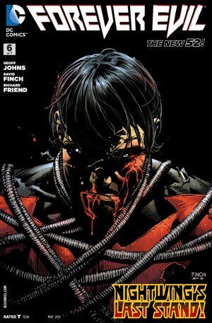 Cover for Forever Evil #6 (2014)