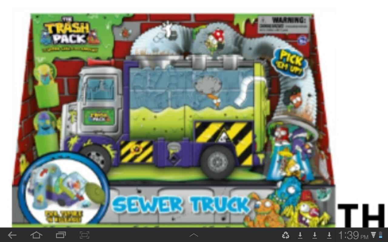 Lego rubbish truck