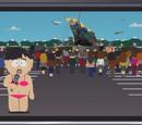 Midget Wearing a Bikini