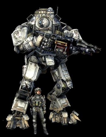 [ThreeZero] Titanfall Titan_and_Pilot