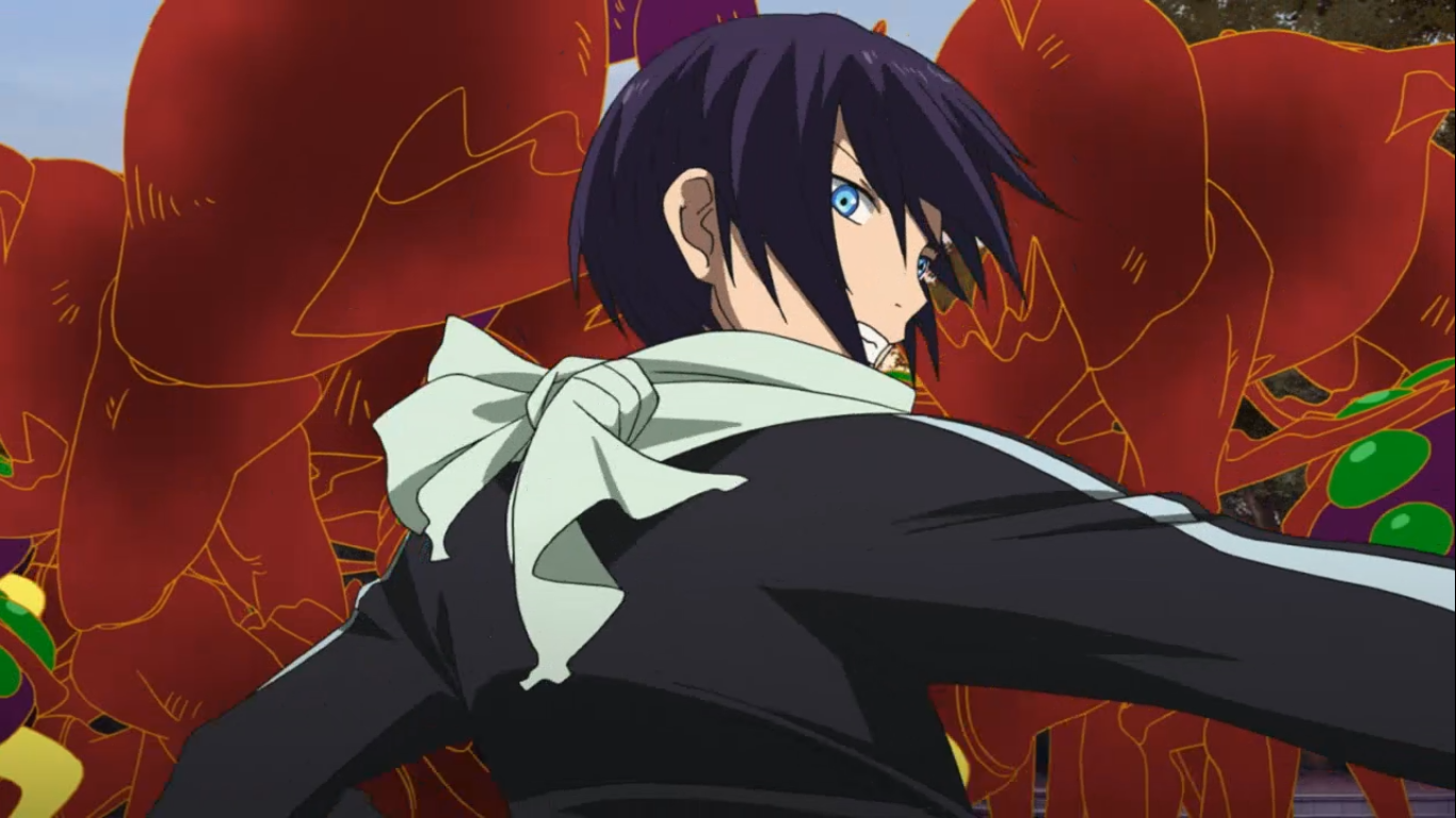 Size of this preview  640   215  360 pixels   Other resolutions  320    Noragami Yato Screenshot