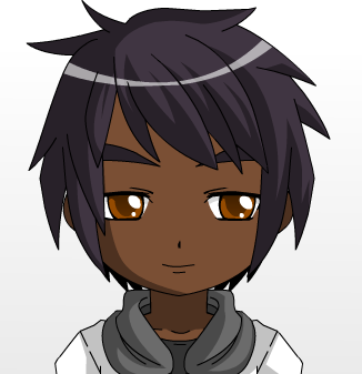 Image Portrait Of Anime Black Skinned Boy By Sunoflove