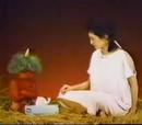 Reklama chusteczek Kleenex