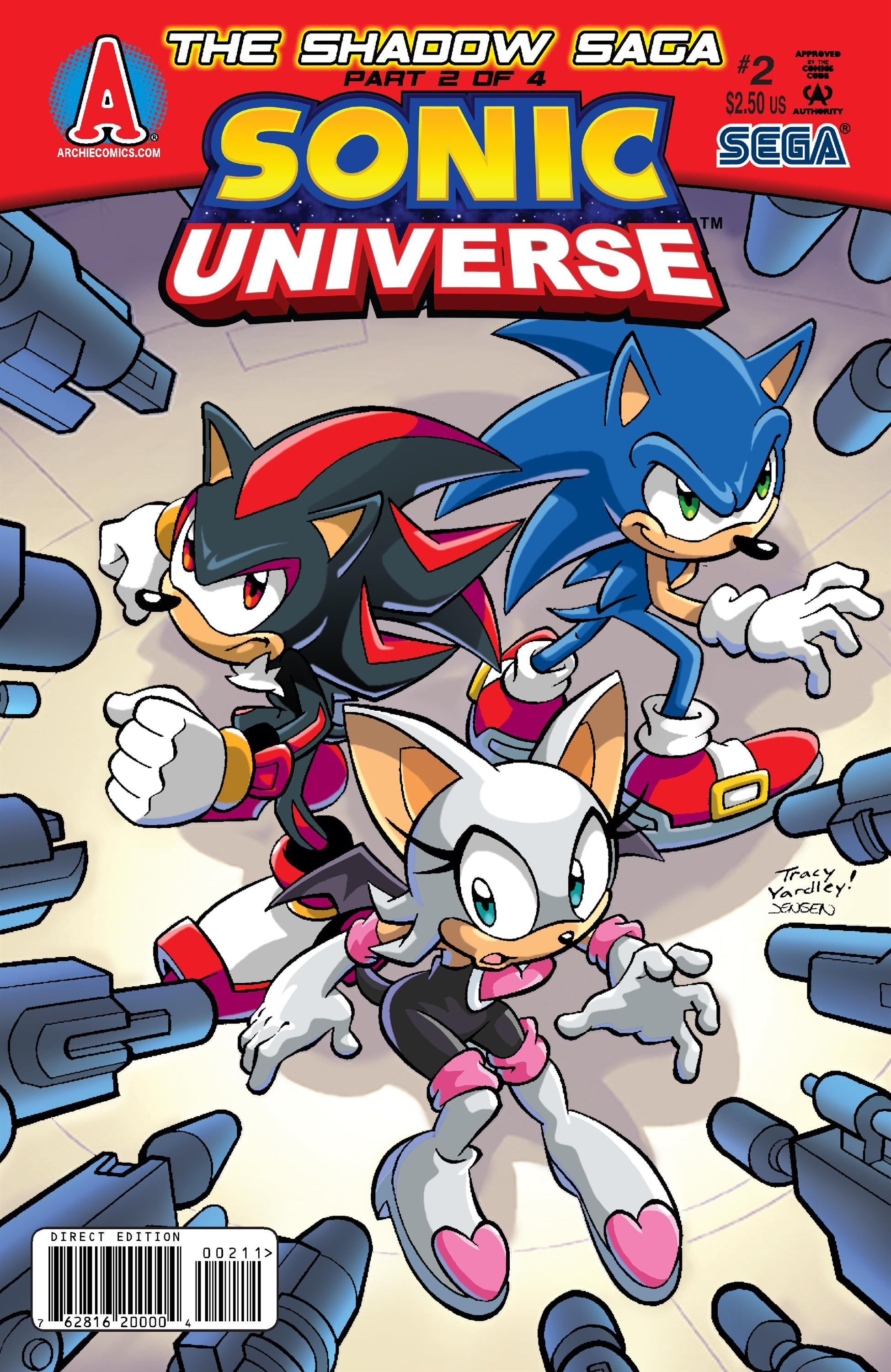 Archie sonic universe issue 2 sonic news network the sonic wiki