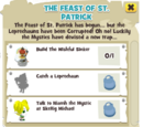 The Feast of St. Patrick