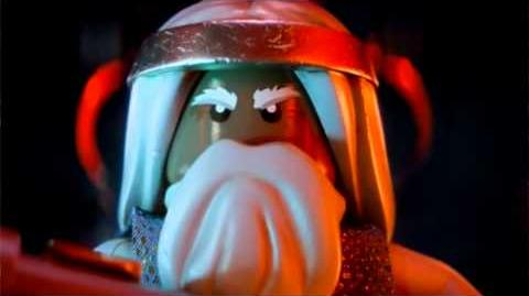 Exclusive LEGO Lord Vitruvius Minifig with Collector's Edition LEGO Movie Blu-ray