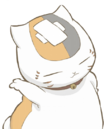 Nyanko head with bandage.png
