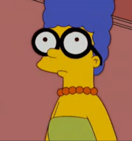 Bart With Glasses