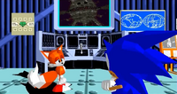 Tails cutscene Sonic the Fighters