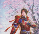 Samurai Warriors Character stubs