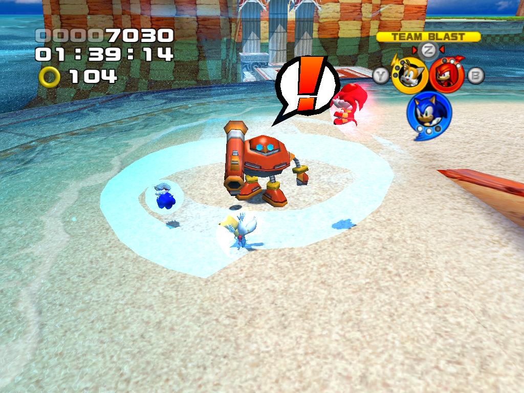 Blue Tornado Sonic Sonic Using The Blue Tornado