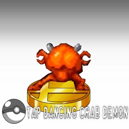 Image - Tap Dancing Crab Demon.png - World of Smash Bros ...