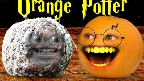 Orange Potter and the Deathly Apple