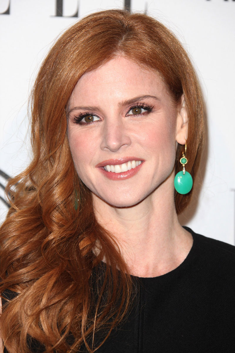 The 45-year old daughter of father Michael G. Rafferty, Jr. and mother Mimi Rafferty, 175 cm tall Sarah Rafferty in 2018 photo