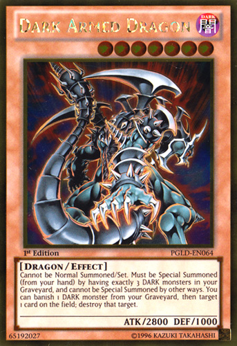 Legendary Dragons Card Shop DarkArmedDragon-PGLD-EN-GUR-1E