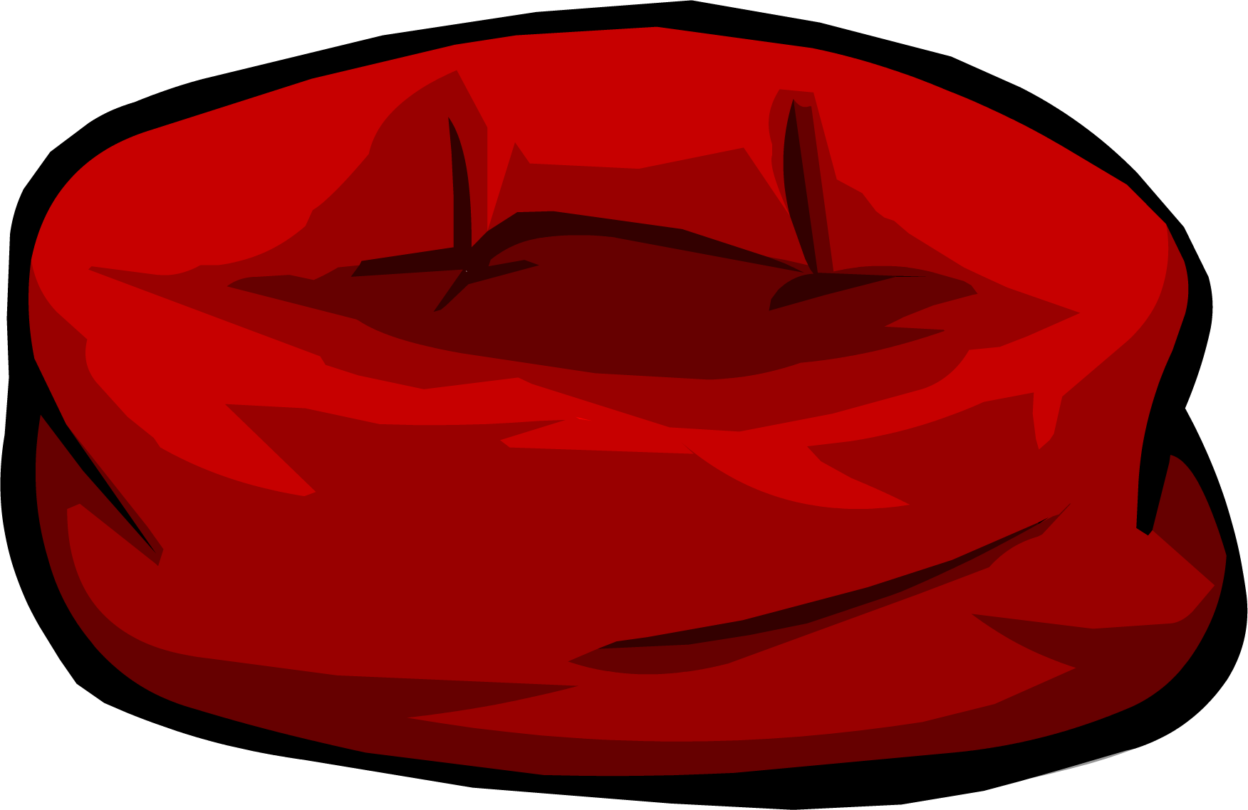 Image Red Bean Bag Chair Png Club Penguin Wiki The