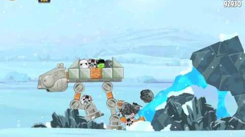 Hoth 3-11 (Angry Birds Star Wars)/Video Walkthrough