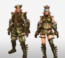 Frontier Generation Armor Set Renders (Front View)