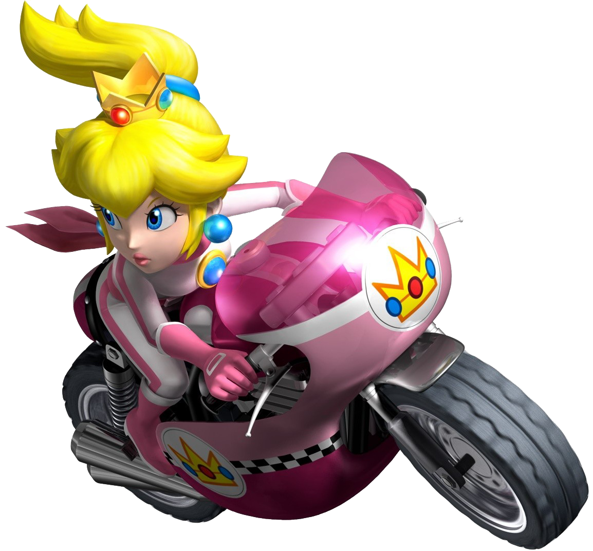 princess peach the mario kart racing wiki mario kart. Black Bedroom Furniture Sets. Home Design Ideas