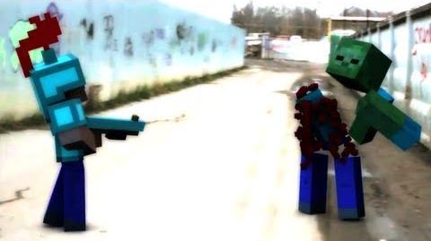 "Animation Spotlight ""Where Them Mobs At"" - David Guetta Minecraft Parody by Rusplaying"